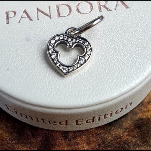 b8edaf02e2e79 Authentic Pandora Mickey Mouse Heart Charm